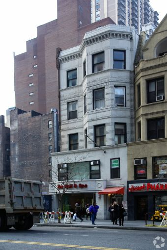 The current building at 214 West 72md Street, scheduled for demolition.