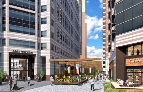 Ballston Exchange rendering
