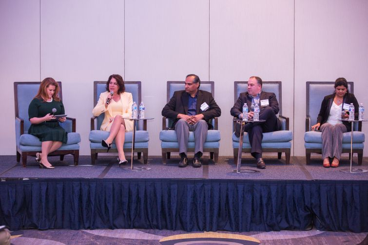 First panel at inaugural healthcare construction event in Washington, D.C.
