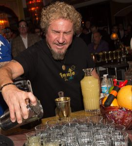 Sammy Hagar's Cabo Wabo Cantina is coming to Times Square.