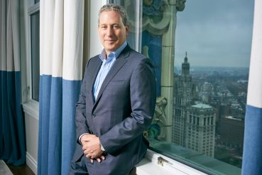 Ken Horn and his firm Alchemy Properties took on the challenge of converting the top of half of the Woolworth to condos after those floors sat vacant for years.