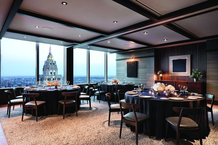 The best views in the city may be from Danny Meyer's new restaurant Manhatta, which is perched at the top of 28 Liberty.