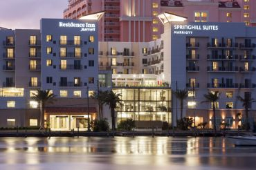 The Residence Inn and SpringHill Suites at 309 Coronado Drive in Clearwater Beach, Fla.
