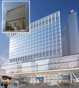 Proposed renovation of 2 Penn Plaza.