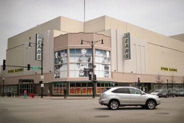A Chicago Sears store set for closure earlier this year.