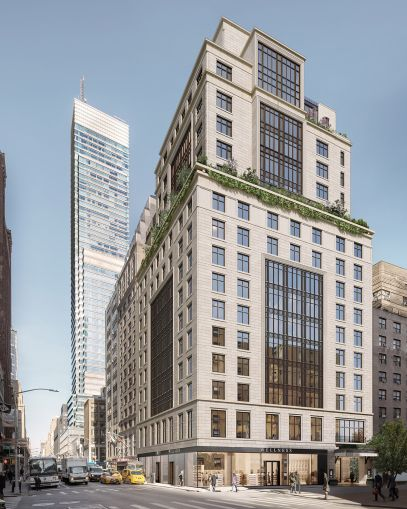 Hunter Roberts is constructing Sunrise at East 56th Street, one of the first upscale residences for seniors in New York City.