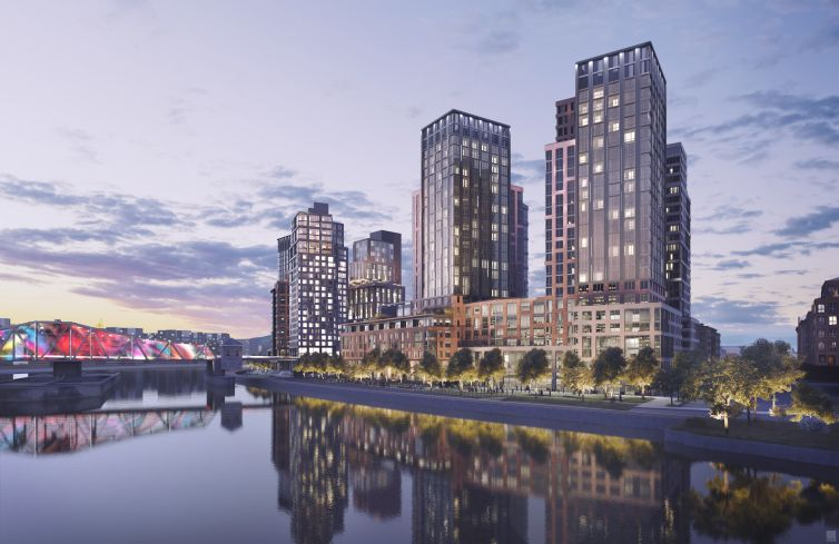Brookfield's yet-to-be-built residential megaproject at 101 Lincoln Avenue.