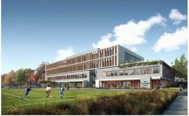 Georgetown Day School rendering.