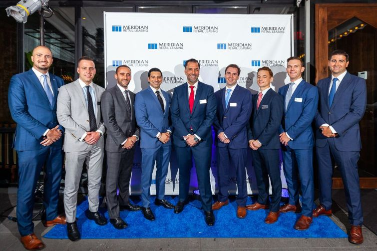 Shown from left are: Ben Biberaj, Clayton Traynham, Eliot Goldschmidt, Greg Goldberg, James Famularo, Kevin Bisconti, Dane Harlowe, Ted Lundeen, and Steven Dweck