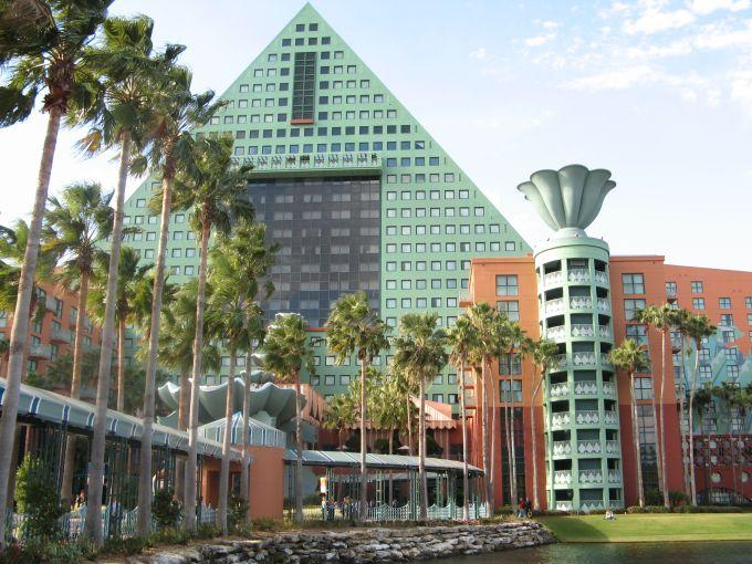The Dolphin hotel at Disney World near Orlando.