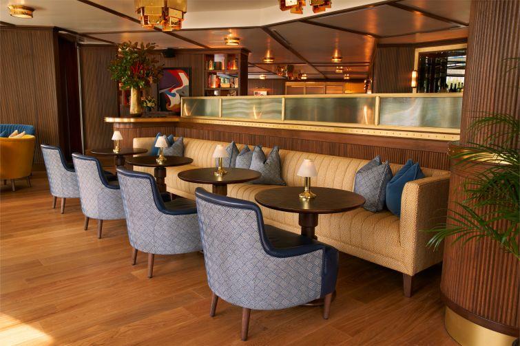 The renovated restaurant at Dupont Circle Hotel