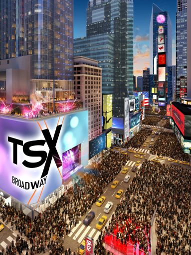 L&L's TSX Broadway will rise 46 stories and include the landmarked Palace Theatre, a hotel and 10 floors of retail.