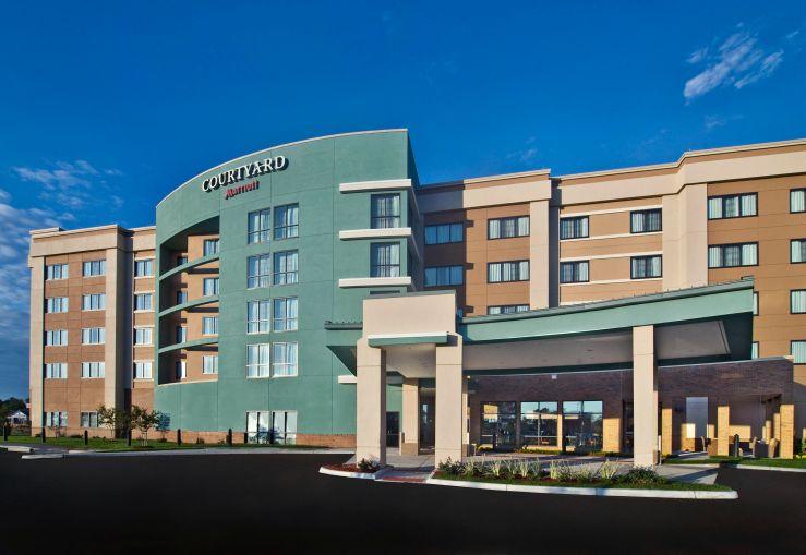 A Courtyard by Marriott hotel in Newport News, Va.