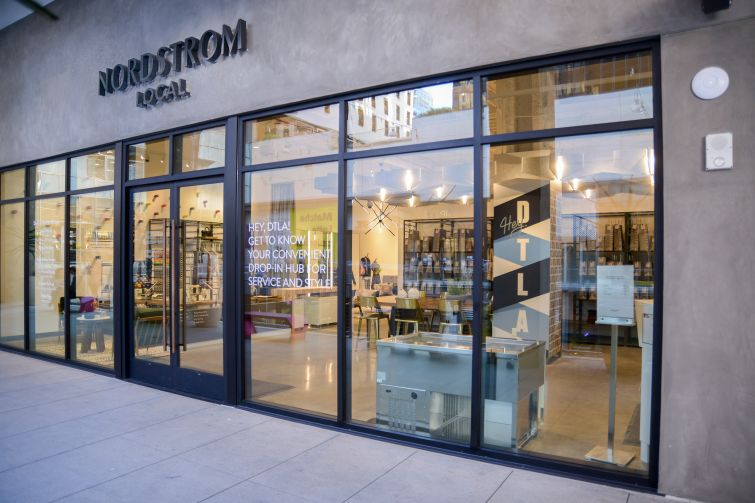 Nordstrom Local in The Bloc in Los Angeles.