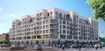 A rendering of The Elm West in Elmhurst, Queens.