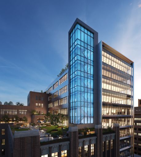 Tishman Speyer is building a 10-story office building on top of Macy's 1920s office building in Downtown Brooklyn.