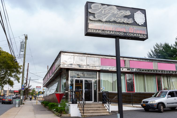 The Kings Arms Diner in the West Brighton neighborhood of Staten Island.