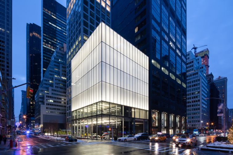 Park Avenue Cube.