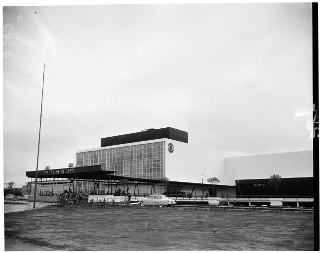 CBS Television City, seen here at its ribbon cutting, November 15, 1952, was one of the biggest sales transactions thus far for 2019.