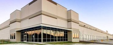 The 168,425-square-foot warehouse at 8575 Volta Drive in Humble, Texas.