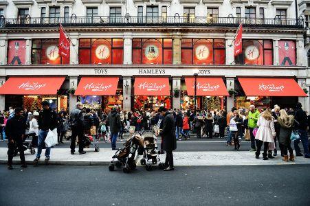 Hamleys on Regent Street in London.