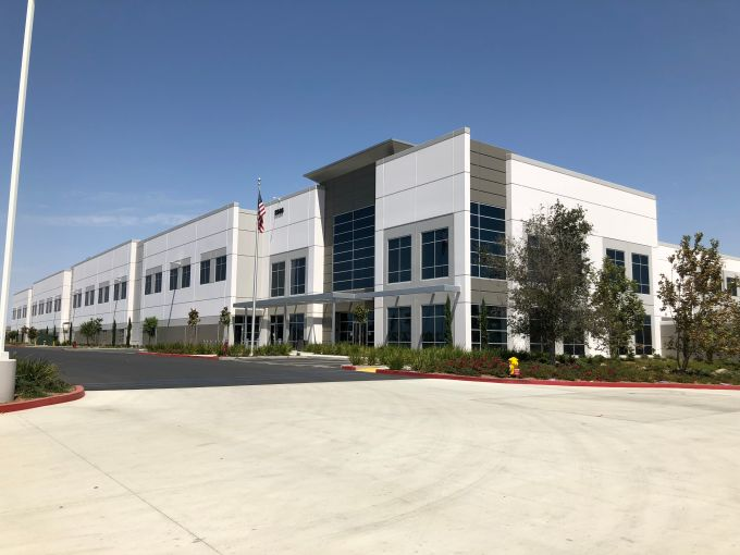 One of five industrial buildings within the portfolio.