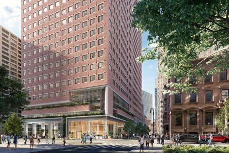 100 pearl street rendering