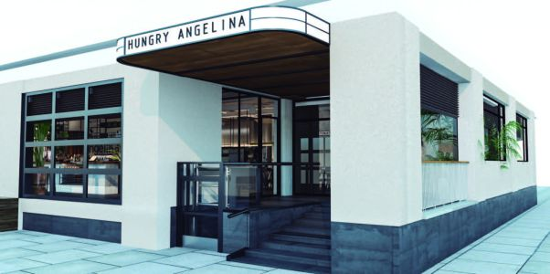 Preliminary conceptual rendering of Hungry Angelina at Dumbo Heights.