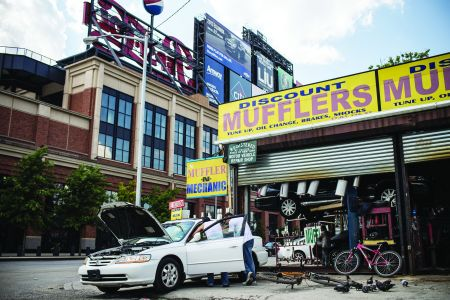 Several acres of auto shops were demolished to make way for new development in Willets Point. But what exactly that will look like is unclear.