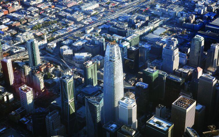 Boston Properties' Salesforce Tower in San Francisco.