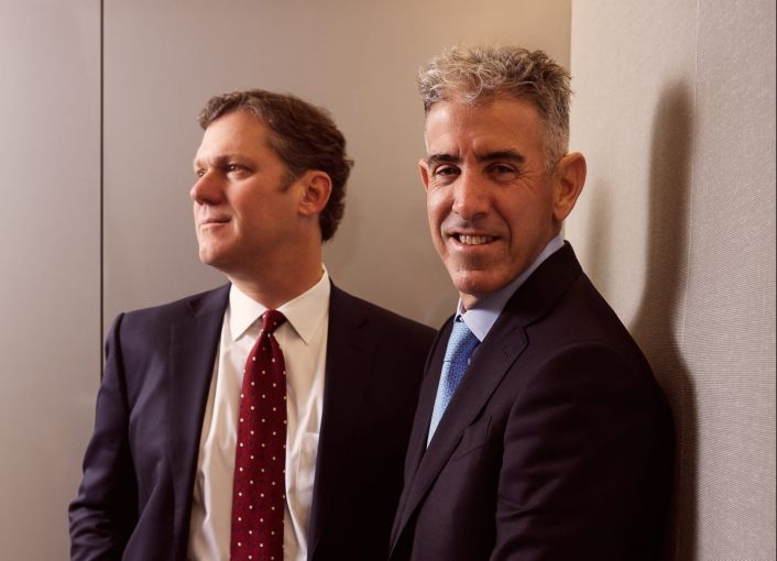 Mark Zytko (left) and Jeff Friedman are expecting to originate roughly $3 billion in 2019.