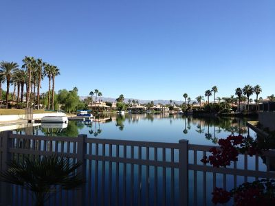 Coachella Valley's Lake La Quinta in California.