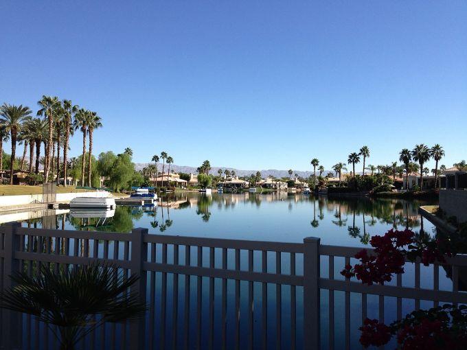 Coachella Valley's Lake La Quinta in California.