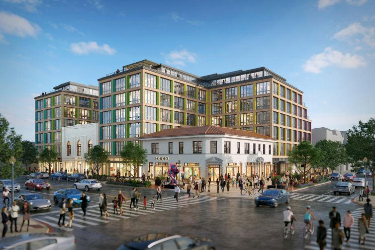 Rendering of Lz on 14th Street in D.C.