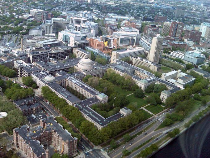 The MIT campus in Cambridge, Mass.