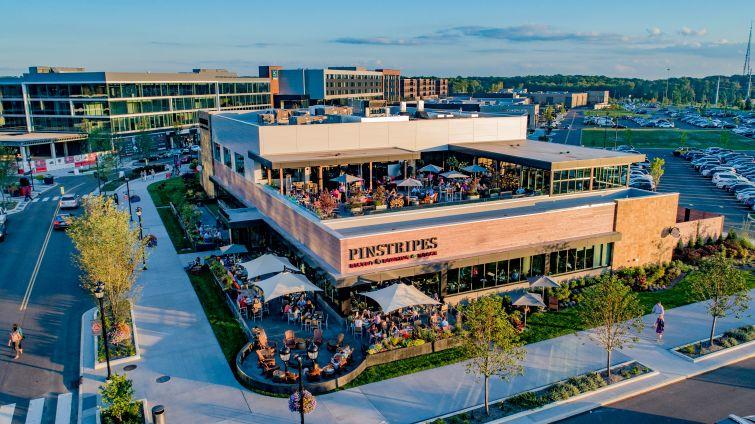 The Pinecrest development in Orange Village, Ohio.