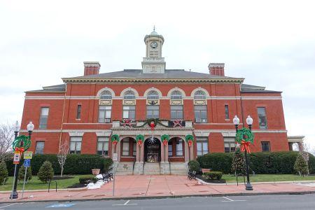 Revere City Hall in Revere, Mass.