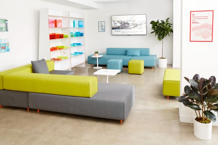 poppin showroom redesign
