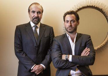 Jorge Pérez and son Jon Paul Pérez.