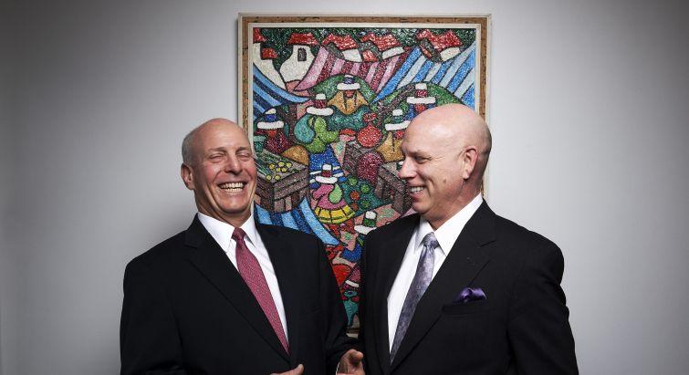 David Sonnenblick, left, and Elliot Eichner.