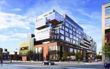 Rubenstein Partners plans to redevelop Acme Smoked Fish's Greenpoint property at 30 Gem Street into office and industrial space.