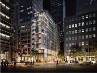 Rendering of 592 Fifth Avenue.