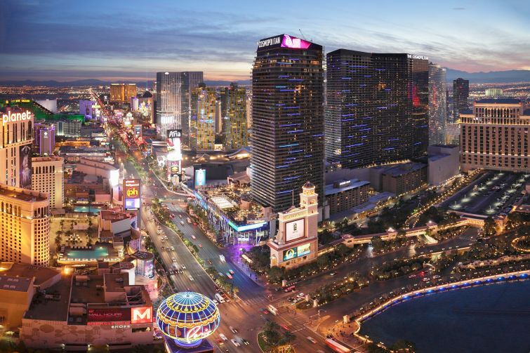 WHERE'S THE ACTION?: It's in Las Vegas which suffered greatly during the 2008 recession but is luring in developers of all stripes again.