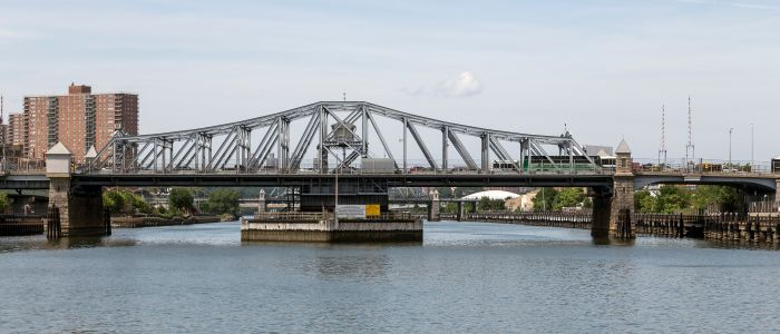 Madison Avenue Bridge which is hugging up against the site that Lightstone just purchased.