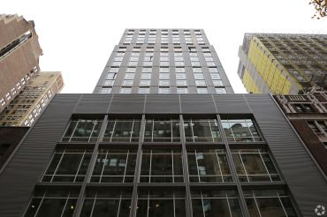 The Crowne Plaza on West 36th Street.
