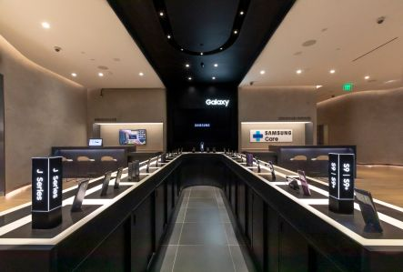 Samsung Experience Store in Glendale, Calif.