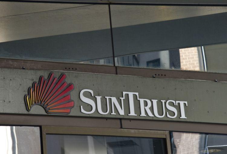 A SunTrust branch in Washington, D.C.