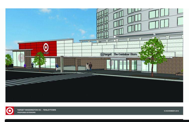 Target in Tenleytown DC rendering