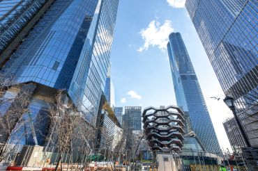 Hudson Yards on Manhattan's West Side.