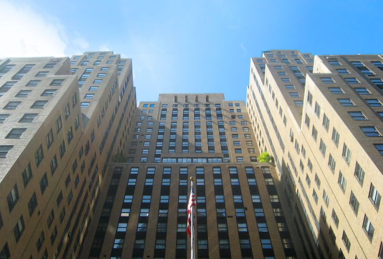 Designated a landmark in 2012, the Graybar Building is an Art Deco icon.